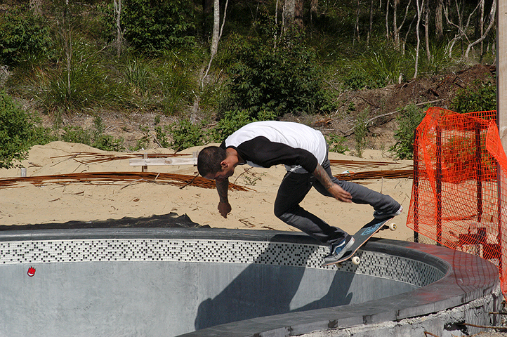 Mangawhai Activity Zone: Skate Park: Small Bowl Session