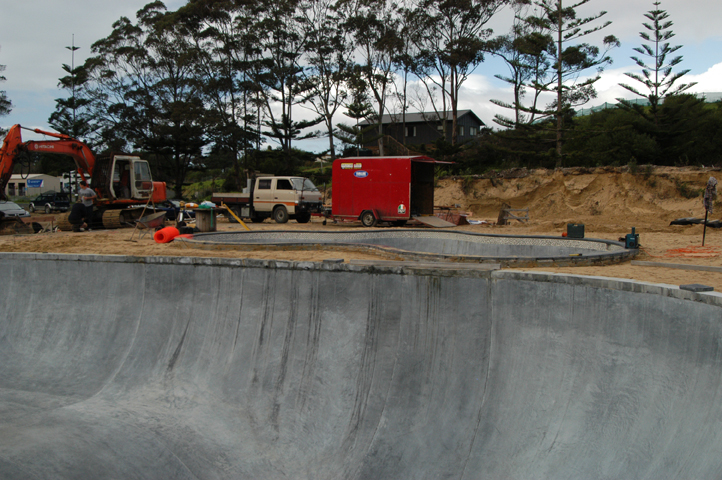 Largest Skate Bowl In New Zealand In Progress