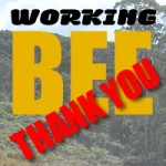 Working Bee Thank You
