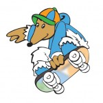 The Mangawhai Activity Zone Mascot: The Mangawhai Womble