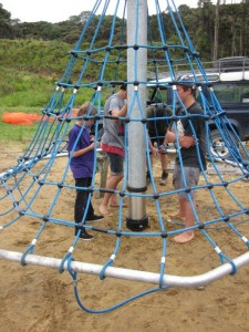 Mangawhai Activity Zone play equipment
