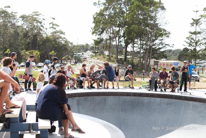 mangawhai skate bowl jam pics