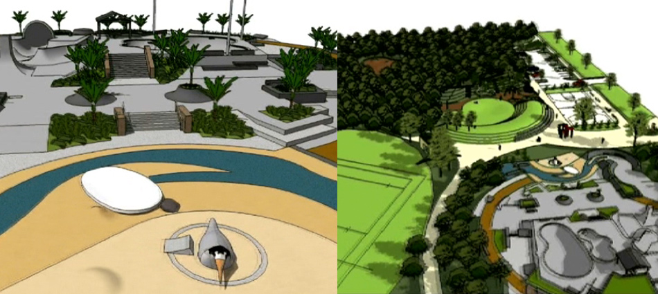 mangawhai activity zone original concept drawings