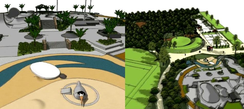 mangawhai activity zone original concept drawings