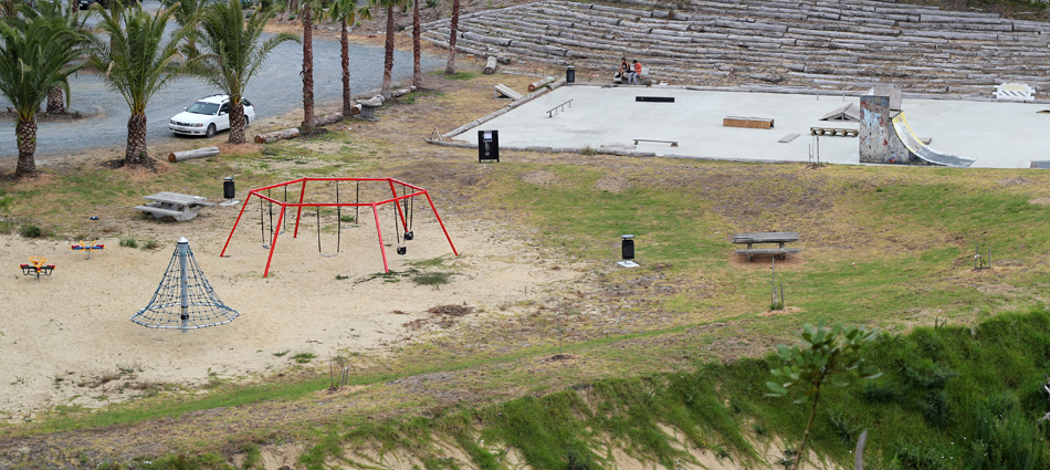 Playground equipment installed