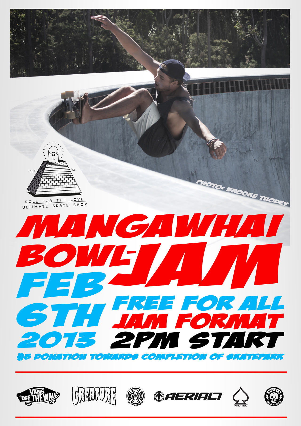 Ultimate Skate Shop and Vans MAZ Bowl Jam 2013