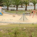 Children's Playground Snake Path Ready