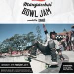 3rd Annual Mangawhai Skate Bowl Jam - 15th February, 2014