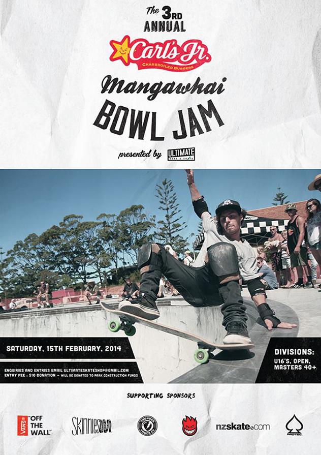 MAZ: 3rd Annual Skate Bowl Jam