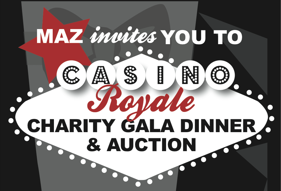 MAZ Casino Royale Gala Poster Header