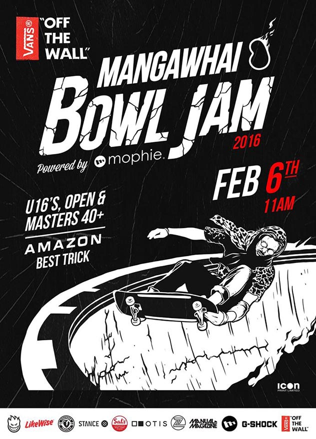 MAZ 5th Annual Skate Bowl Jam 2016