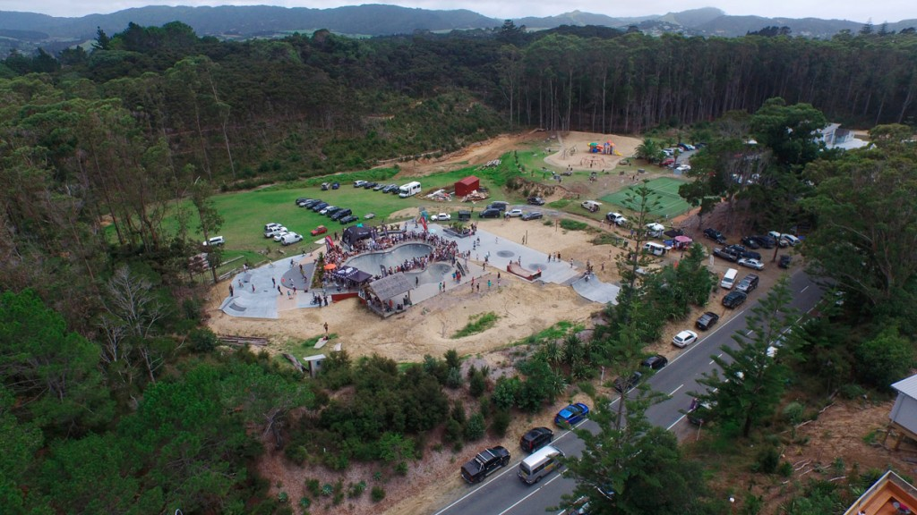 MAZ 2016 Bowl Jam Aerial Photo