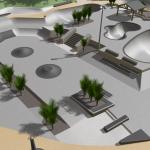 3D Model of Skate Park