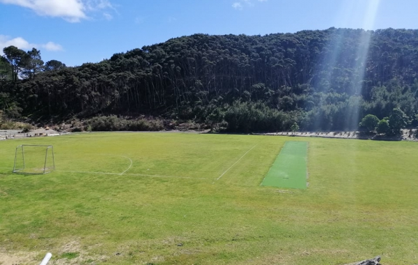 Soccer Field & Cricket Pitch